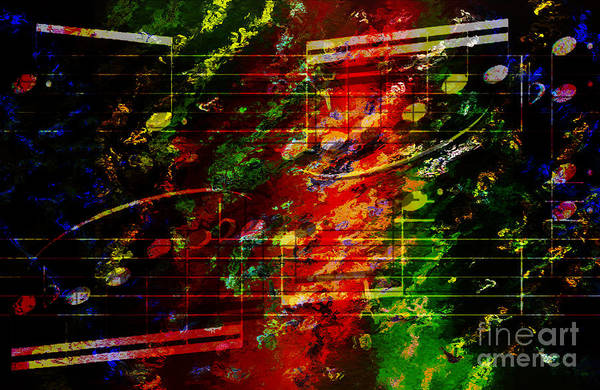 Digital Art - Heterophonic Holiday Hash by Lon Chaffin