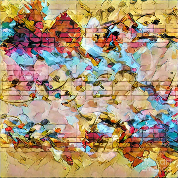 Digital Art - Heterophony Squared 2 by Lon Chaffin