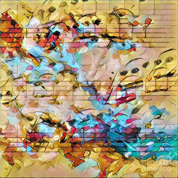 Digital Art - Heterophony Squared 3 by Lon Chaffin