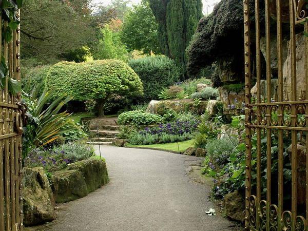 Photograph - Hever Castle Garden Gate by Jeffrey Peterson