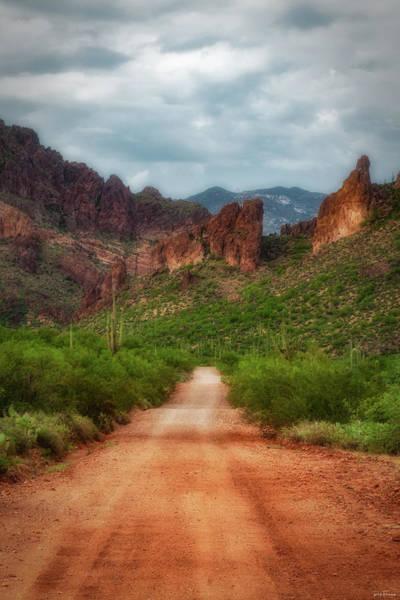 Photograph - Hewitt Canyon Road by Rick Furmanek