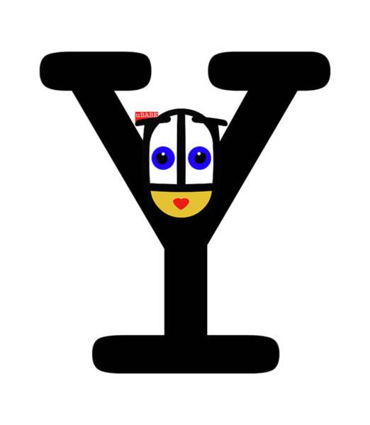Digital Art - Hey Ubabe by Charles Stuart