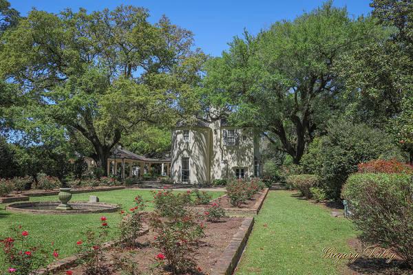 Photograph - Heyman House Garden 5 by Gregory Daley  MPSA