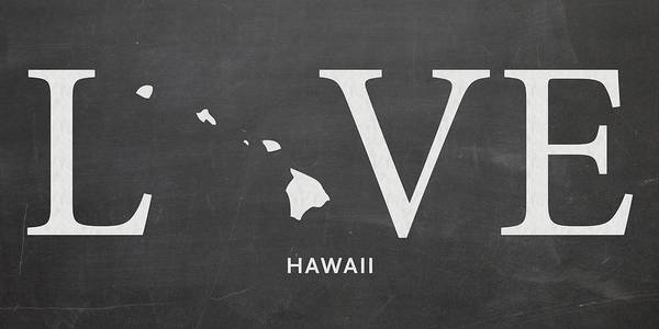 Hawaii Mixed Media - Hi Love by Nancy Ingersoll