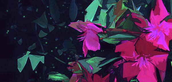 Digital Art - Hibiscus Shadows by Gina Harrison