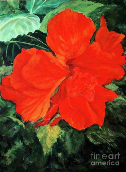 Painting - Hibiscus by Gail Kent