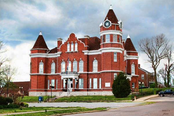 Photograph - Hickman Kentucky Courthouse by Bonnie Willis