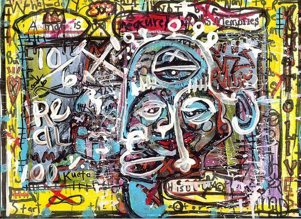 Painting - Hidden Agenda by Robert Wolverton Jr
