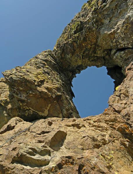 Photograph - D17875-hidden Arch On Casa Grande  by Ed  Cooper Photography