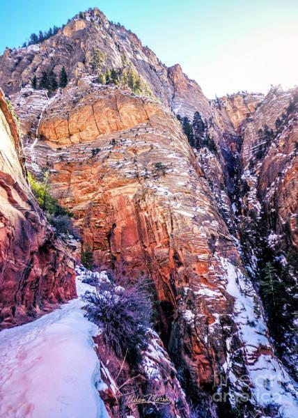 Photograph - Hidden Canyon by Adam Morsa
