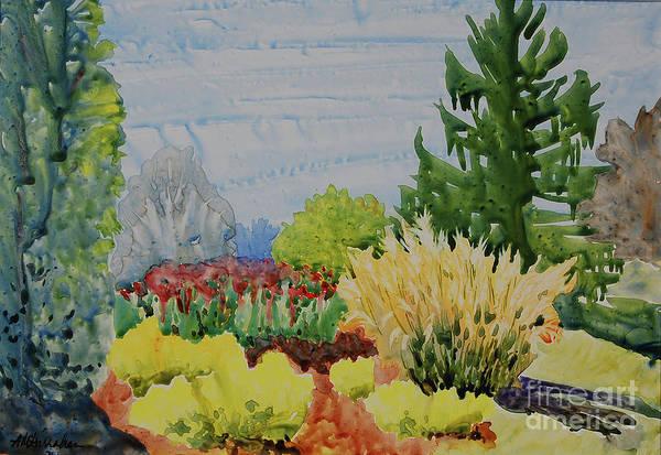 Wall Art - Painting - Hidden Corner, Blanchette Park by Annette McGarrahan