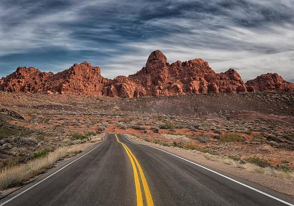 Fire Place Photograph - Hidden Driveway Ahead by Robert Fawcett