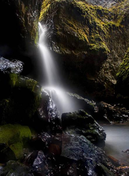 Caverns Photograph - Hidden Falls by Mike  Dawson