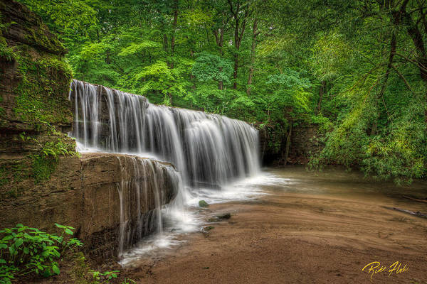 Photograph - Hidden Falls  by Rikk Flohr