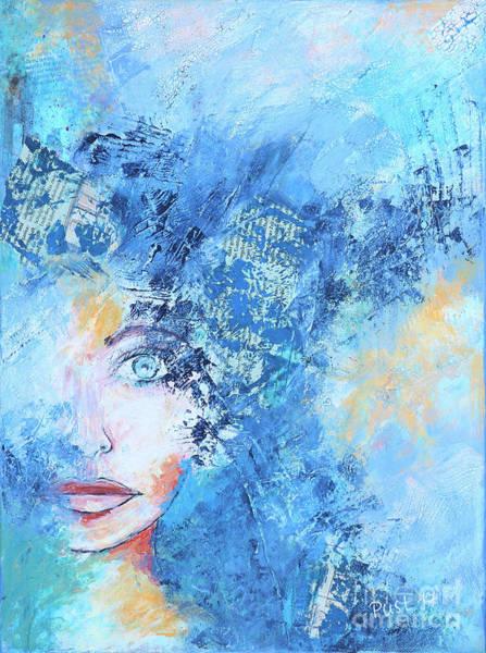Painting - Hidden by Jutta Maria Pusl