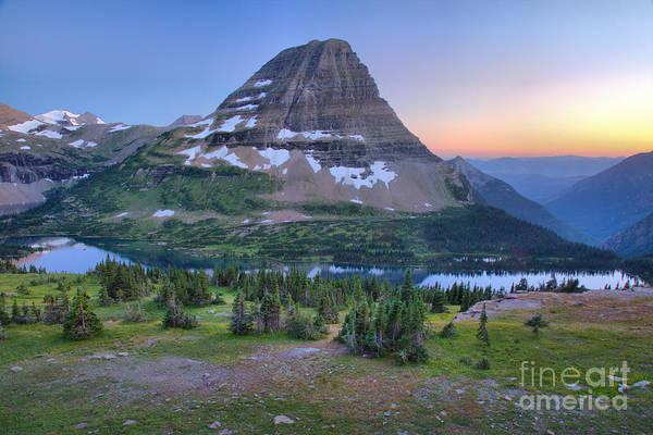 Photograph - Hidden Lake 2017 Smokey Sunset by Adam Jewell