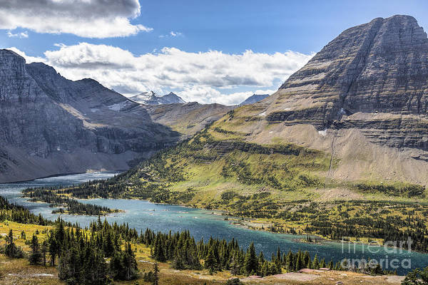 Art Print featuring the photograph Hidden Lake Overlook by Jemmy Archer