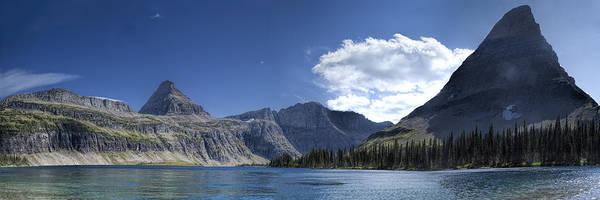 Photograph - Hidden Lake Pano by Jemmy Archer