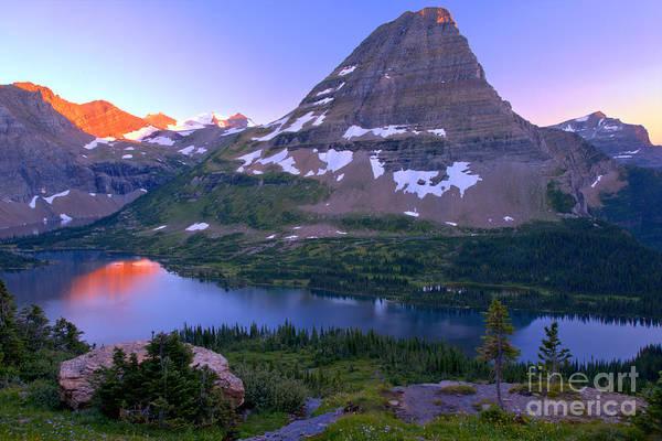 Photograph - Hidden Lake Rocky Mountain Reflections by Adam Jewell