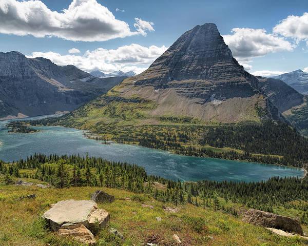 Photograph - Hidden Lake Vista by Jemmy Archer