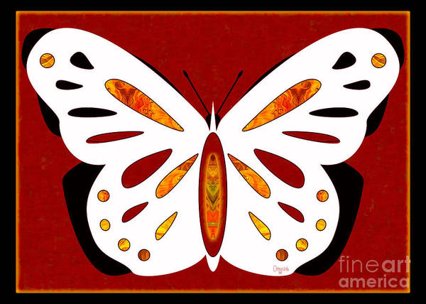 Digital Art - Hidden Possibilities And Abstract Butterflies By Omashte by Omaste Witkowski