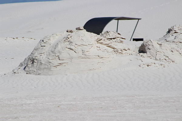 Photograph - Hidden Shelter In White Sands by Colleen Cornelius