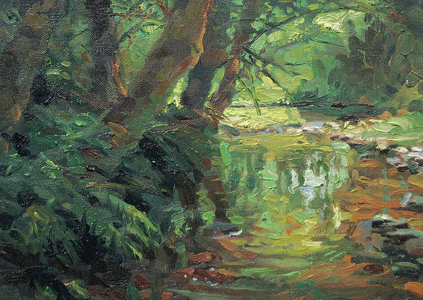 Wall Art - Painting - Hidden Stream by Steve Henderson
