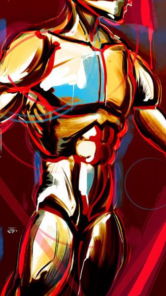Painting - Hidden Strength  by John Jr Gholson