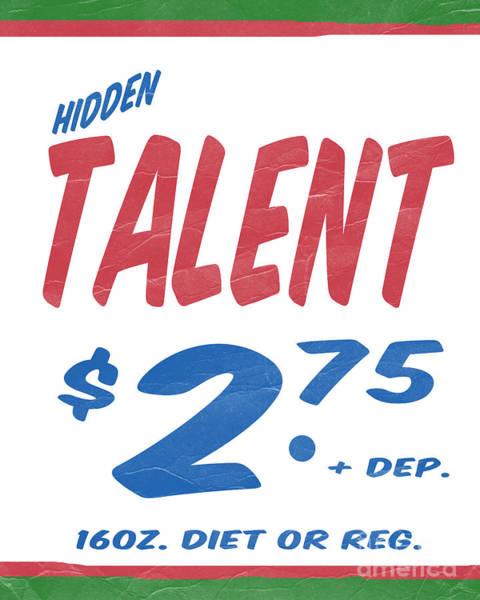 Talent Wall Art - Photograph - Hidden Talent Supermarket Series by Edward Fielding