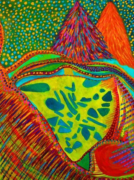 Painting - Hidden Treasure by Polly Castor