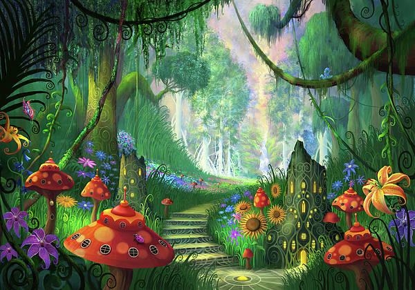 Magician Mixed Media - Hidden Treasure Version 2 by Philip Straub