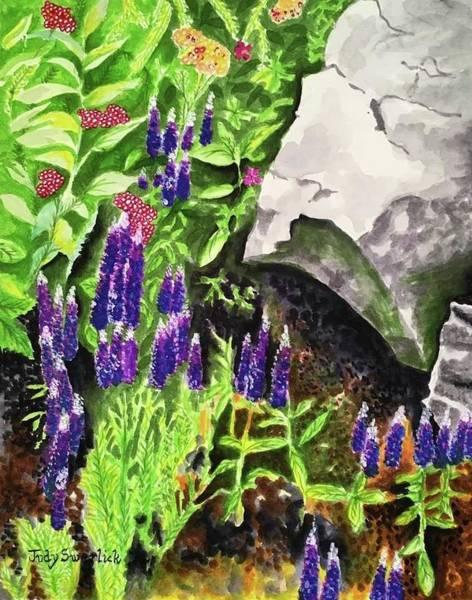 Wall Art - Painting - Hidden Treasures by Judy Swerlick