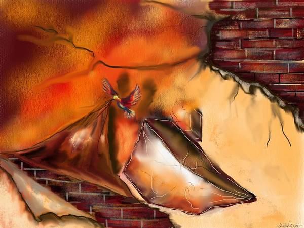 Painting - Hidden True by Miroslaw  Chelchowski