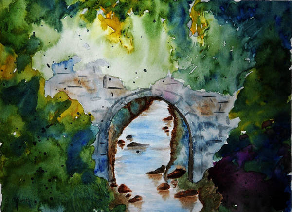 Painting - Hidden Tunnel by Carol Crisafi
