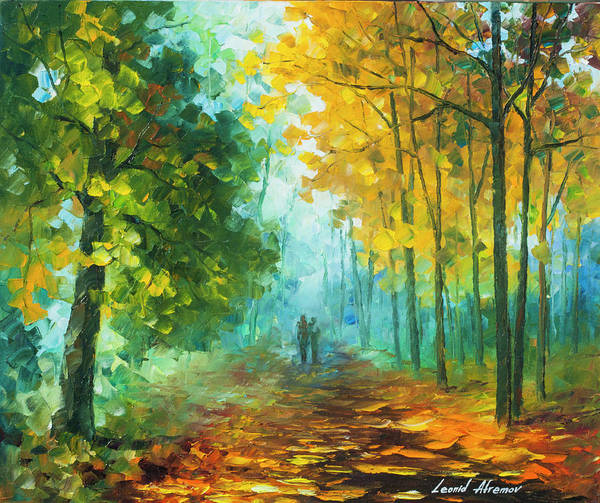 Wall Art - Painting -  Hide And Seek  by Leonid Afremov