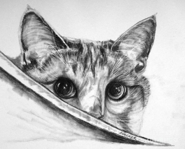 Painting - Hide N Seek by Susan A Becker