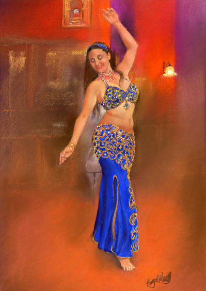 Belly Dancing Painting - Hiedra by Margaret Merry
