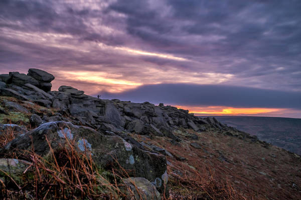 Photograph - Higger Tor In The High Peaks At Dawn by Neil Alexander