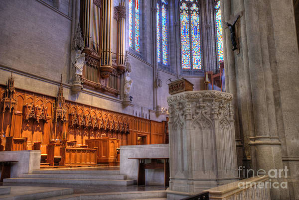 Grace Cathedral Photograph - High Altar by David Bearden