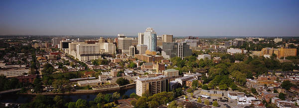 Wilmington Delaware Wall Art - Photograph - High Angle View Of A City, Wilmington by Panoramic Images
