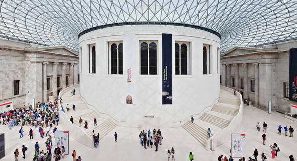 Wall Art - Photograph - High Angle View Of People At British by Panoramic Images