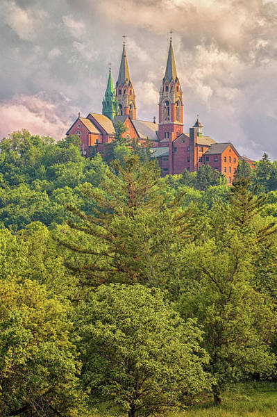 Photograph - High Atop Holy Hill by Susan Rissi Tregoning