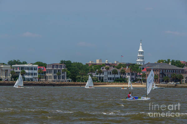 Photograph - High Battery Sailing by Dale Powell