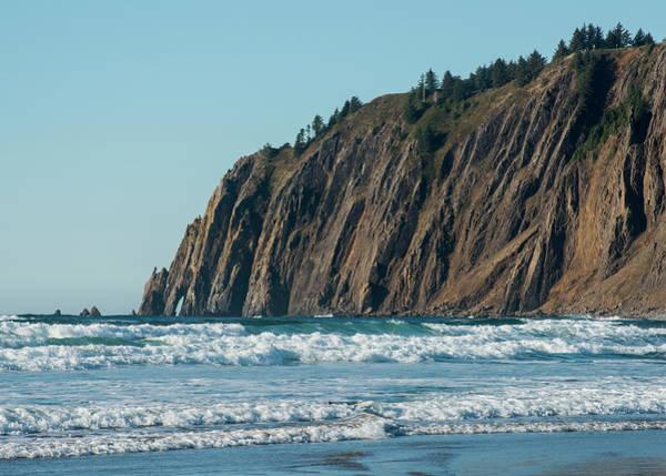 Photograph - High Cliffs Of The Oregon Coast by Robert Potts