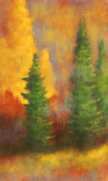 Wall Art - Digital Art - High Country Colors by David G Paul