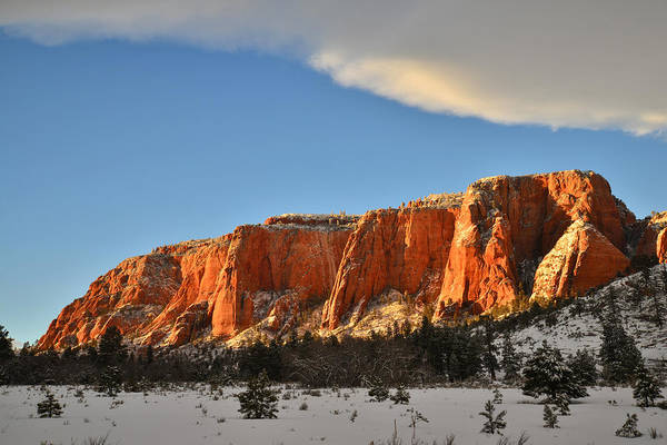 Photograph - High Country Kolob Canyons by Ray Mathis