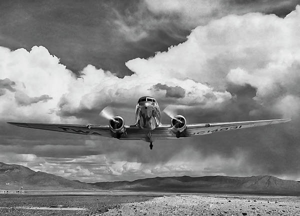 Wall Art - Digital Art - High Desert Dc-3 by Peter Chilelli