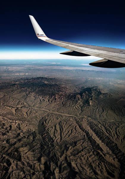 High Desert From High Above Art Print