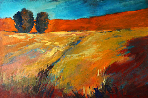 Central Oregon Wall Art - Painting - High Desert by Nancy Merkle