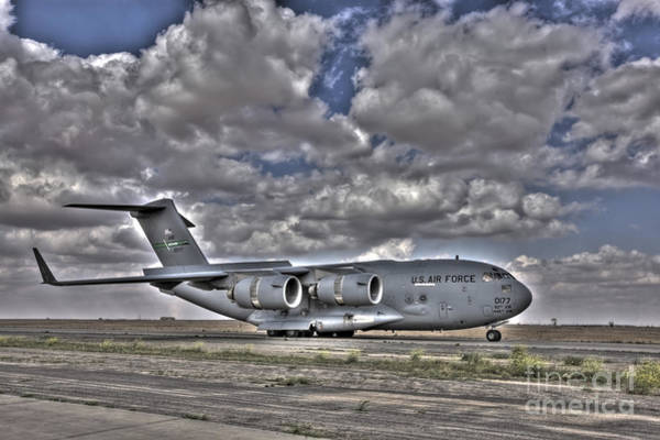 High Dynamic Range Image Of A C-17 Art Print